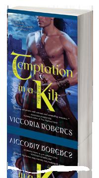 Temptation in a Kilt -- Victoria Roberts